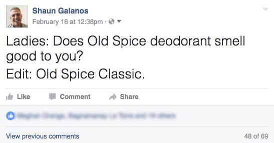 old spice question