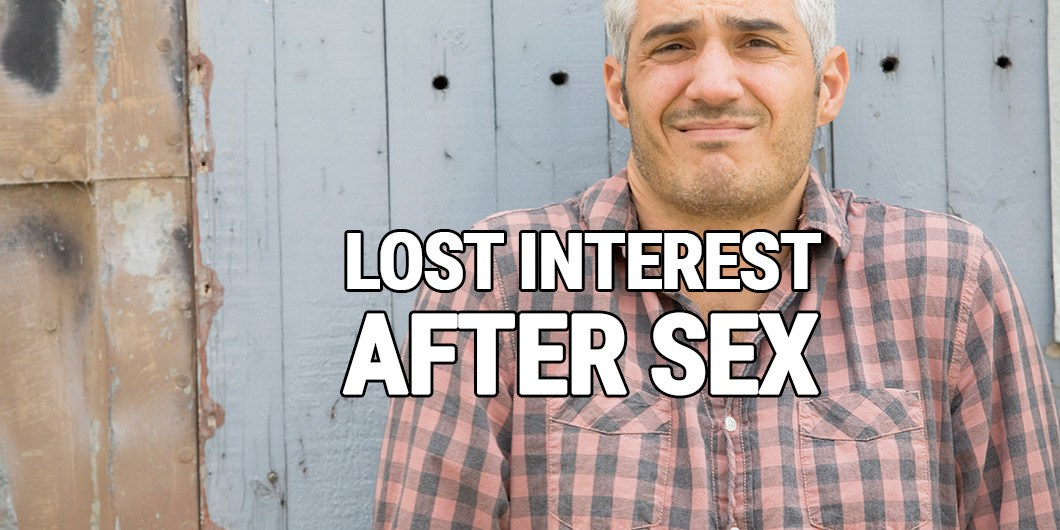 losing interest after sex