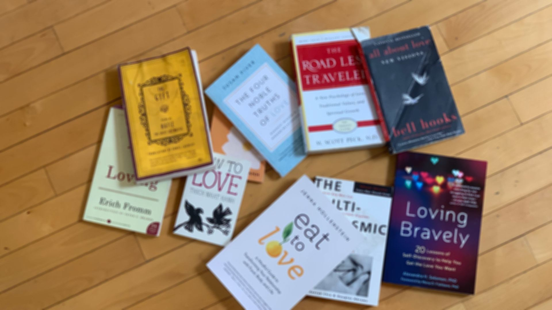 The Love Drive Book List