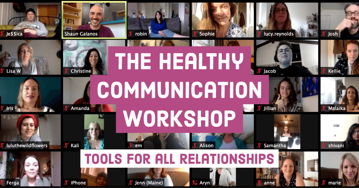 The healthy communication workshop